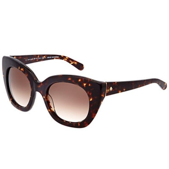 b6a3115b296 Kate Spade Narelle Tortoise Cat Eye Sunglasses